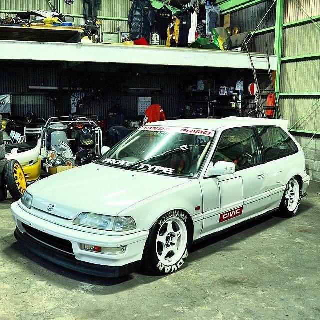 Street Weapon / Kanjo Style #3 Honda Civic EF