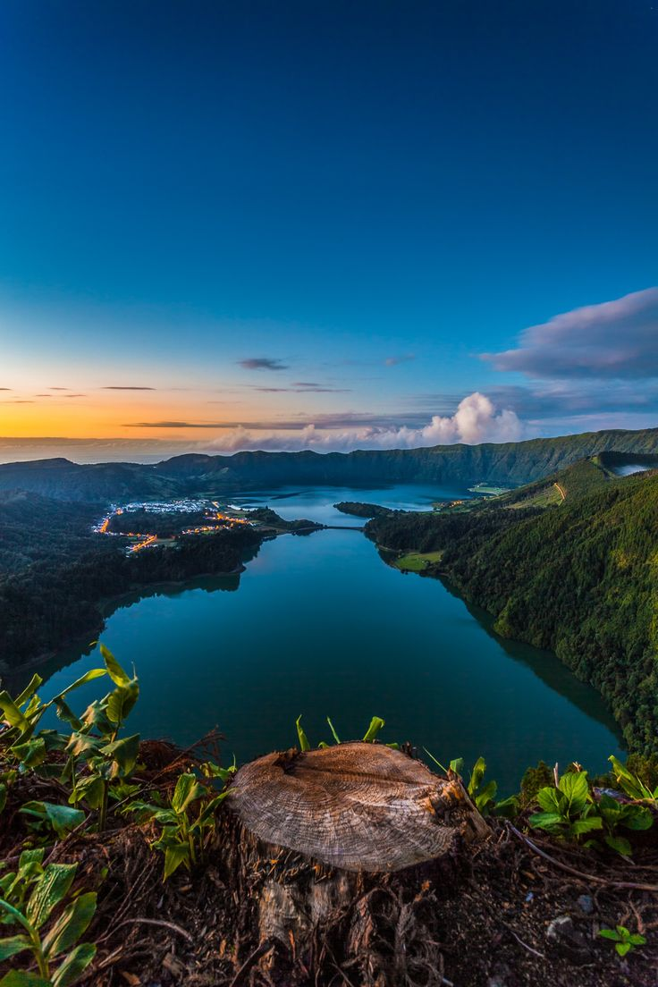 Sete Cidades lagoon by Manuel Oliveira on 500px,São Miguel - Azores  Travel to Azores Islands in Portugal to enjoy azores beautiful nature.  --  Have a look at http://www.travelerguides.net