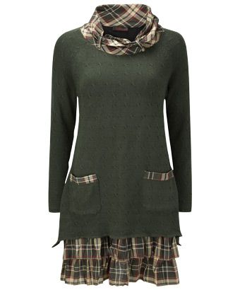Retail, not altered or upcycled, but Joe Browns has a lot of clothing that looks like it is -  Great ideas to try.