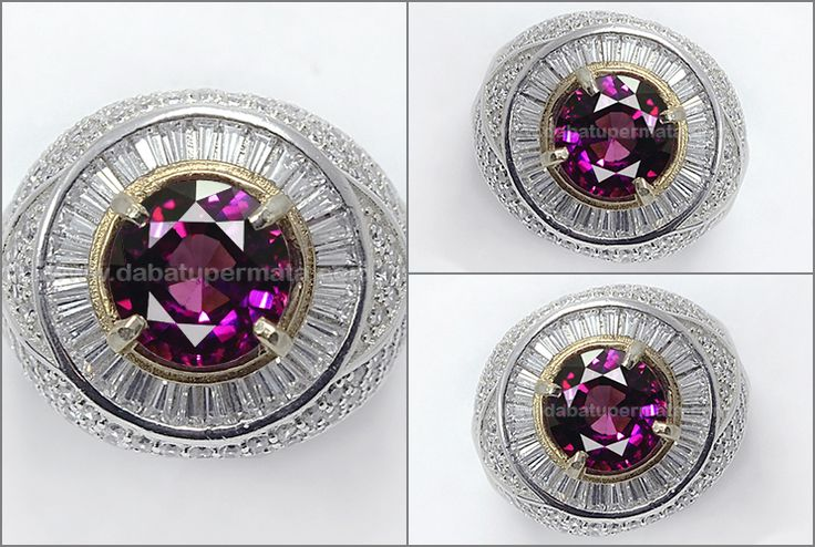 Sparkling Hot GARNET Crystal Mulus + Bling-bling - RGR 017