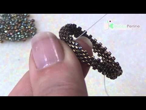 Come incastonare una goccia | Tecnica - HobbyPerline.com - YouTube