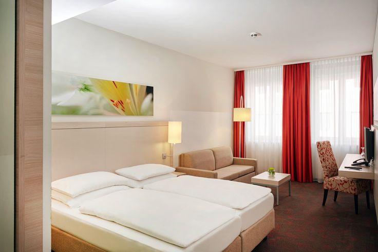 Hotelzimmer der Kategorie - Superior   H+ Hotel München City Centre B&B