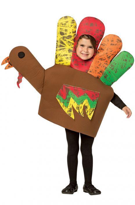 Hand Turkey Child Costume