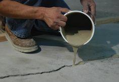 Repairing cement