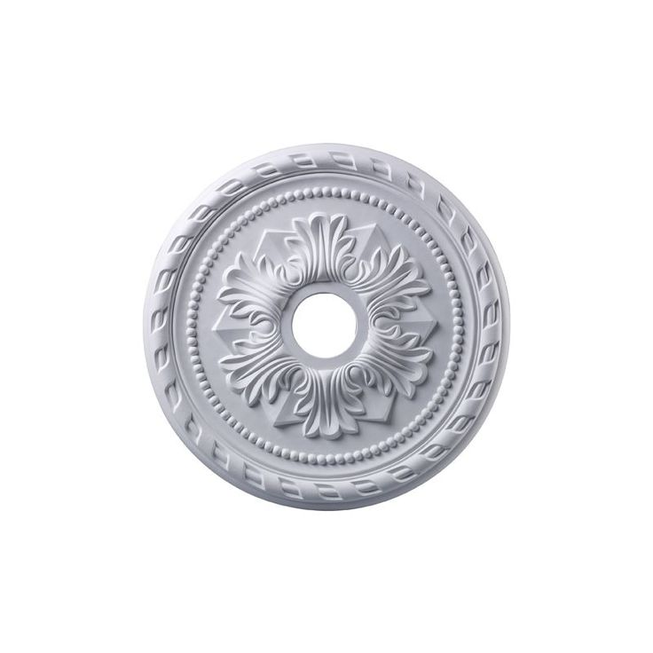 """ELK Lighting M1005 22"""" Ceiling Medallion from the Corinthian Collection White Accessory Ceiling Medallions Ceiling Medallions"""