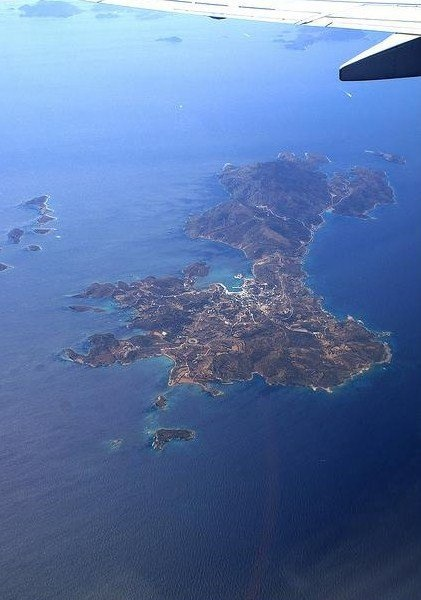 Lipsi Island from above!