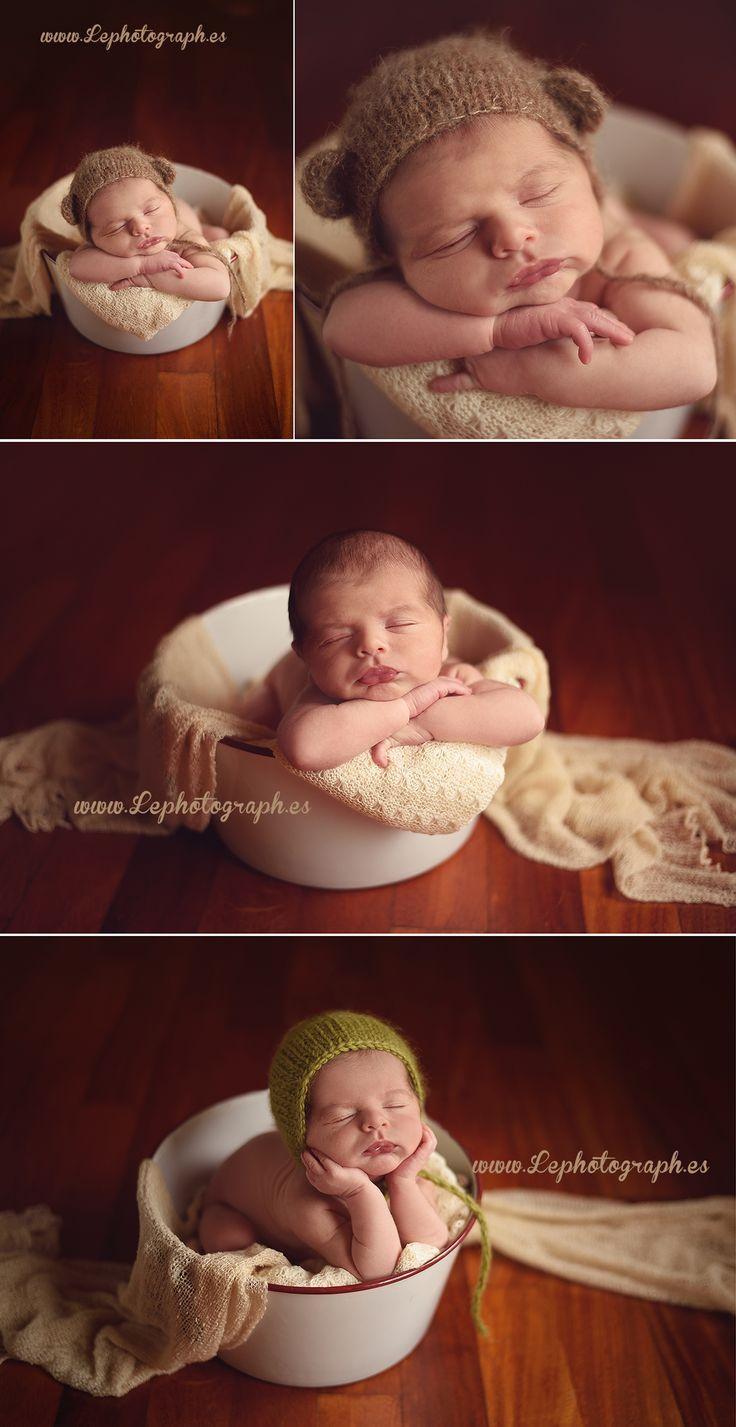 Newborn posing Photography - Poses de Fotografía de recién nacidos www.lephotograph.es