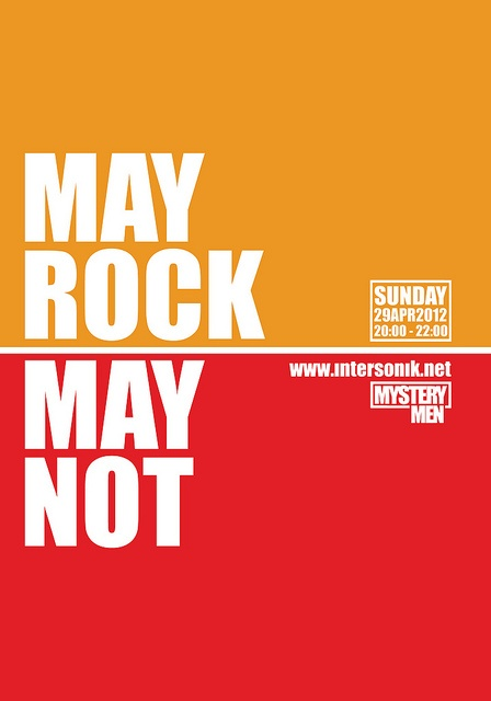 MAY ROCK MAY NOT by YianDiv, via Flickr
