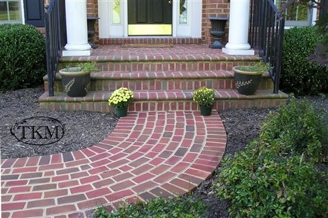 Brick Walkway; For the front steps and walkway