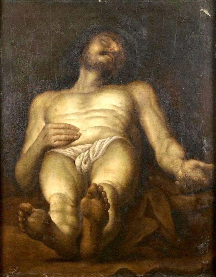 Follower of Orazio Borgianni, The Dead Christ, 17th century