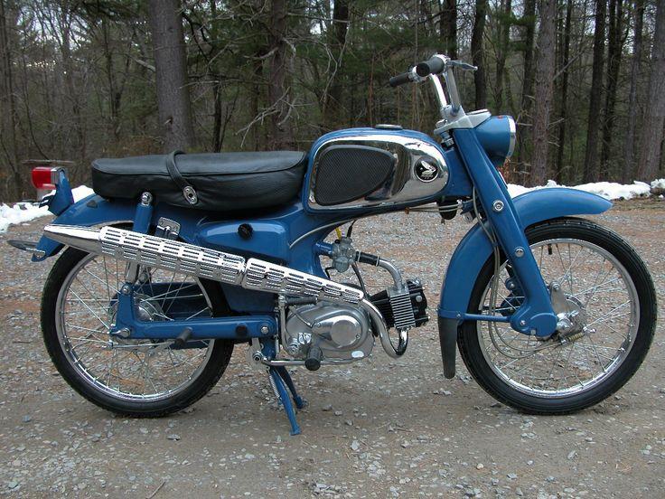 Blue 1966 Honda sport 50