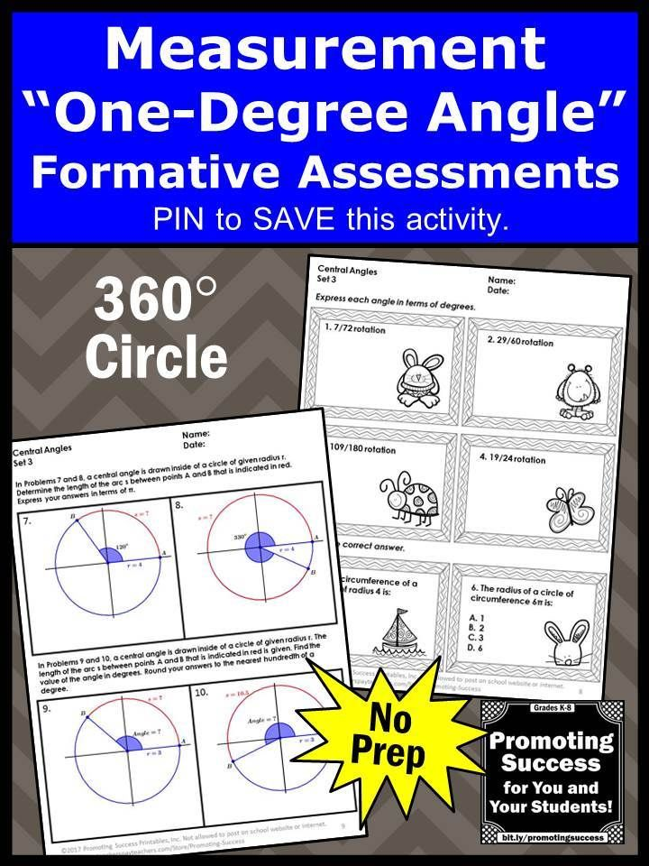 4th Grade Angle Measurements in a Circle Worksheets ...