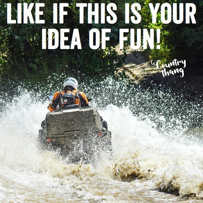 Like if this is your idea of fun! #countryfun #lifefactquotes #countrythang #countrythangquotes #countryquotes #countrysayings