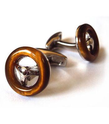 Small Steering Wheel Cufflinks   From Goodwood   Price £45