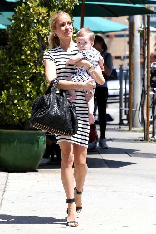 Pregnant Kristin Cavallari Cradles Her Baby Bump in Fitted ...