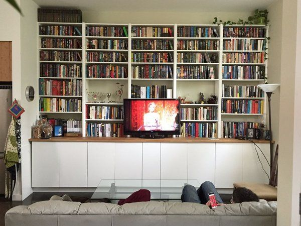 ikea hack builtin cabinets and bookshelves  bookshelves