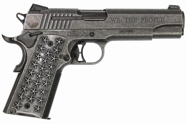 SIG SAUER 1911 45ACP WE THE PEOPLE SPECIAL EDITION Speed up and simplify the pistol loading process with the RAE Industries Magazine Loader. http://www.amazon.com/shops/raeind