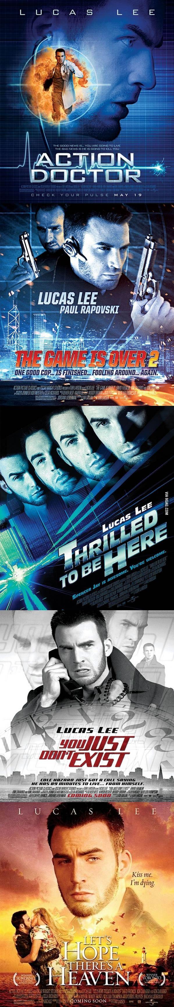 Fake Movie Posters from Scott Pilgrim vs. the World starring Chris Evans