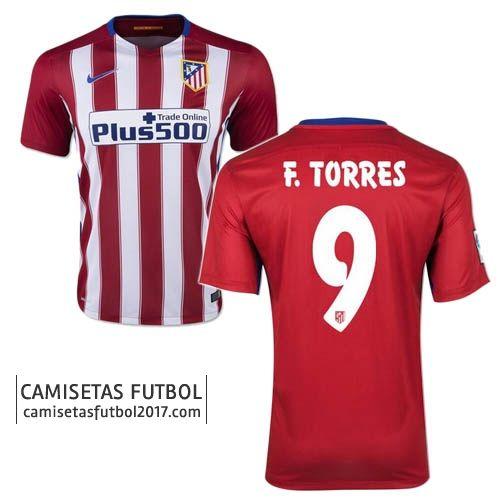 Primera camiseta de Atletico de Madrid F.TORRES 2015 2016   Camisetas de futbol baratas 18,5€