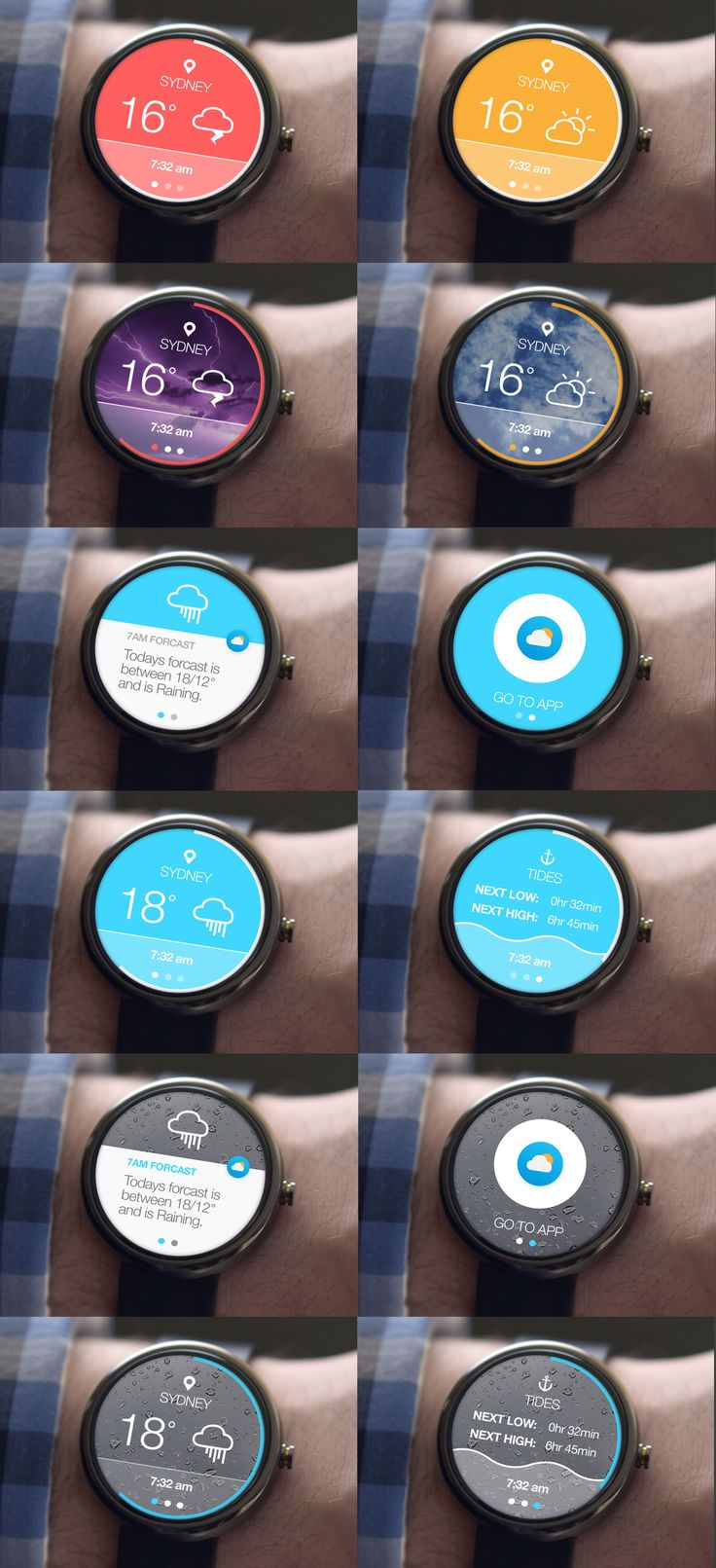 Experimenting with the Moto 360