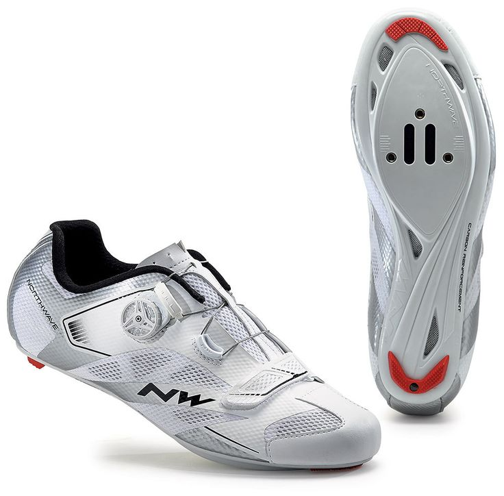 Northwave Sonic 2 Plus Road Shoe - White-Silver 2016