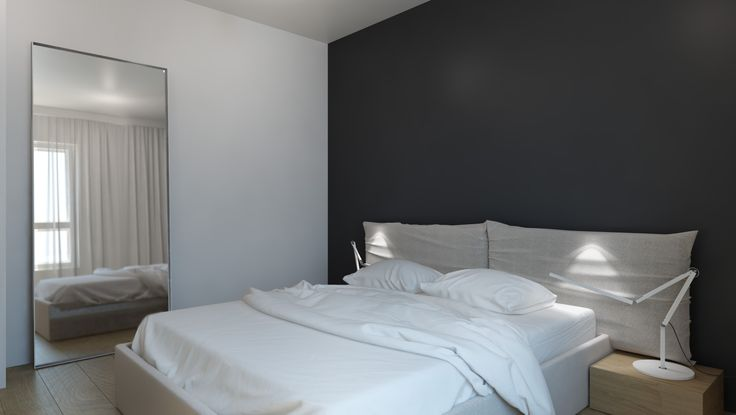 http://monikaskowronska.pl/ #bedroom#bed#minimalism#interior#monika#skowronska