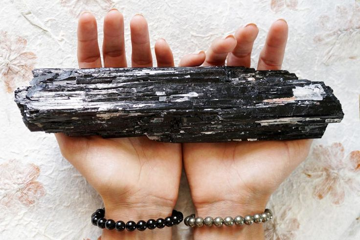 Black Tourmaline, black tourmaline is one of the must have crystals for protection that everyone should be carrying & have in their home, Must have crystals