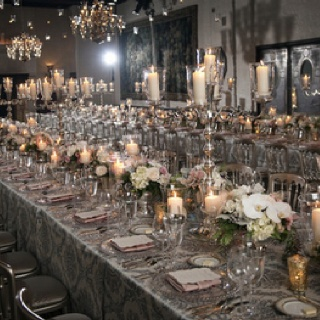 Silver Themed Wedding
