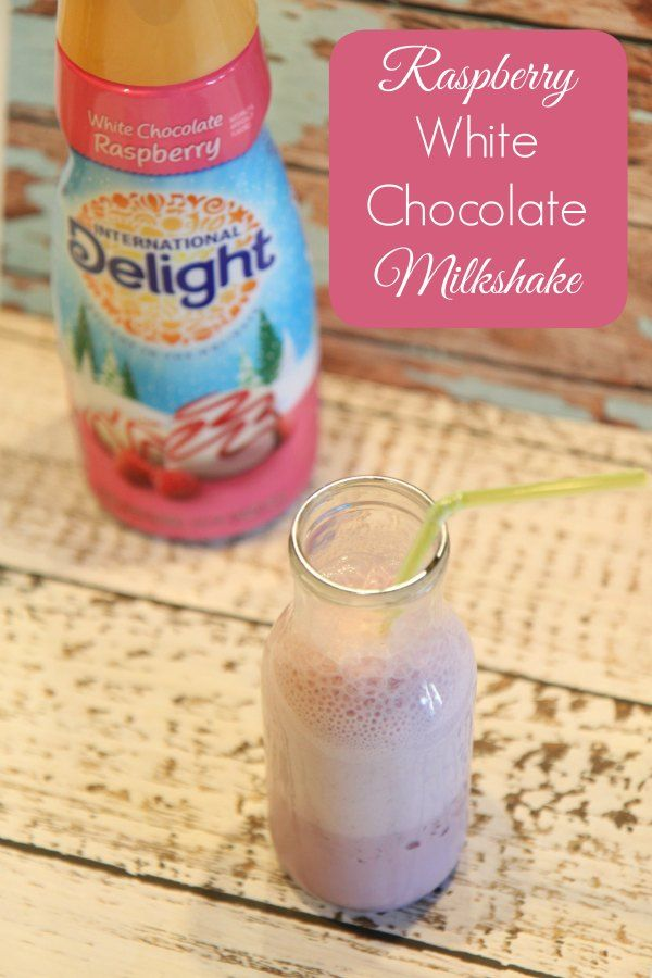 This Raspberry White Chocolate Milkshake is a mouthwateringly delicious way to enhance any evening! Follow this simple recipe for a super delightful treat!