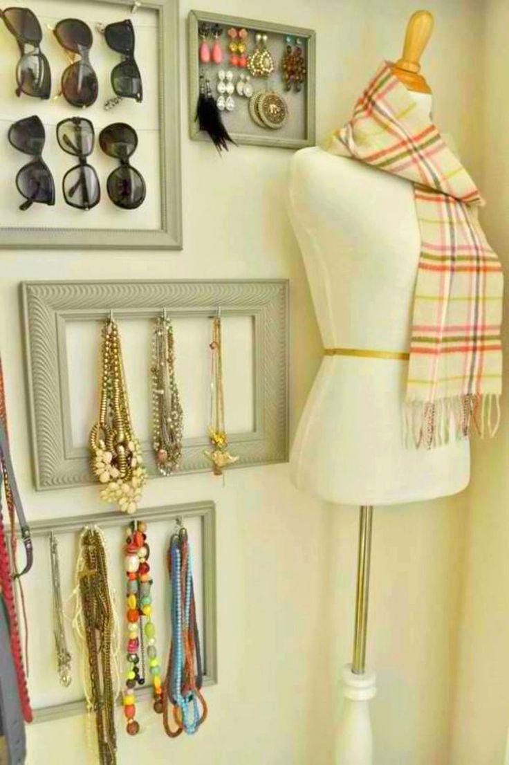 259 best ideas para organizar images on Pinterest | Dressing room ...