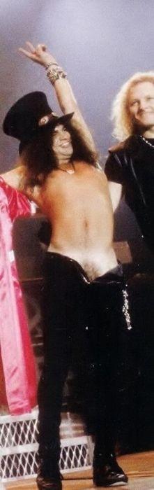 Slash naked