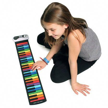 Rock and Roll It Rainbow Piano and thousands more of the very best toys at Fat B...