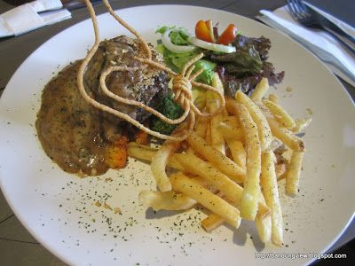 crusted beef provencale -Herb and spice