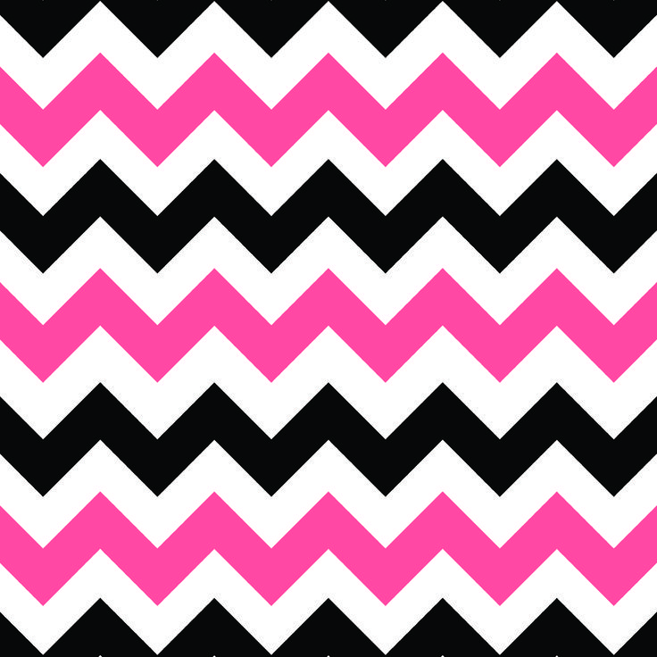 pink,black,and white sheveron