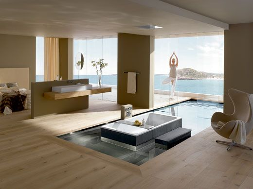 Bassino From Kaldewei Modern Luxury BathroomModern Master BathroomMaster Bathroom DesignsModern DesignBathroom Interior