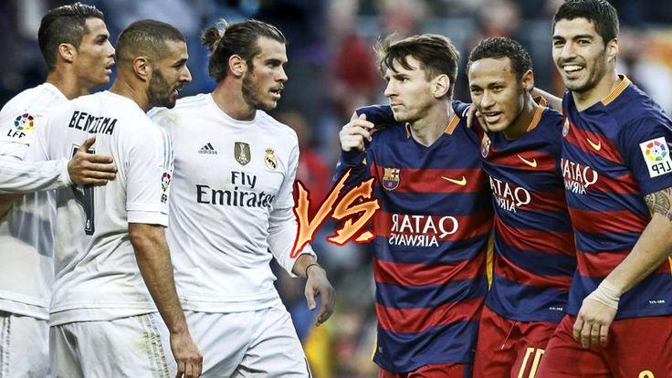 Bale, Benzema, C.Ronaldo vs Messi, Suarez, Neymar | BBC vs MSN | 2016 HD