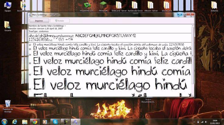 COMO INSTALAR FUENTES PARA WORD!! | FÁCIL Y BIEN EXPLICADO!!! | WINDOWS 7