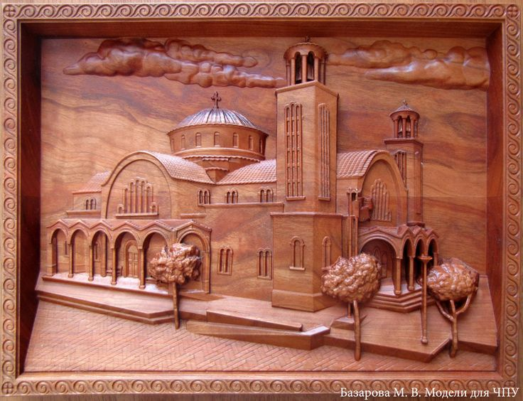 Wall art panno, panel from american cherry. St. George church in Paralimni, Cyprus  #cyprus #paralimni #woodenart