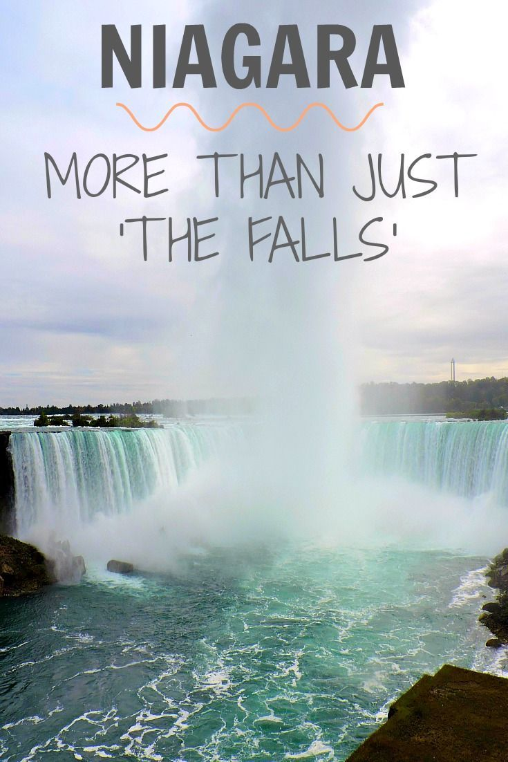 No trip to the east of Canada would be complete without a visit to Niagara Falls but that's not all that Niagara has to offer.