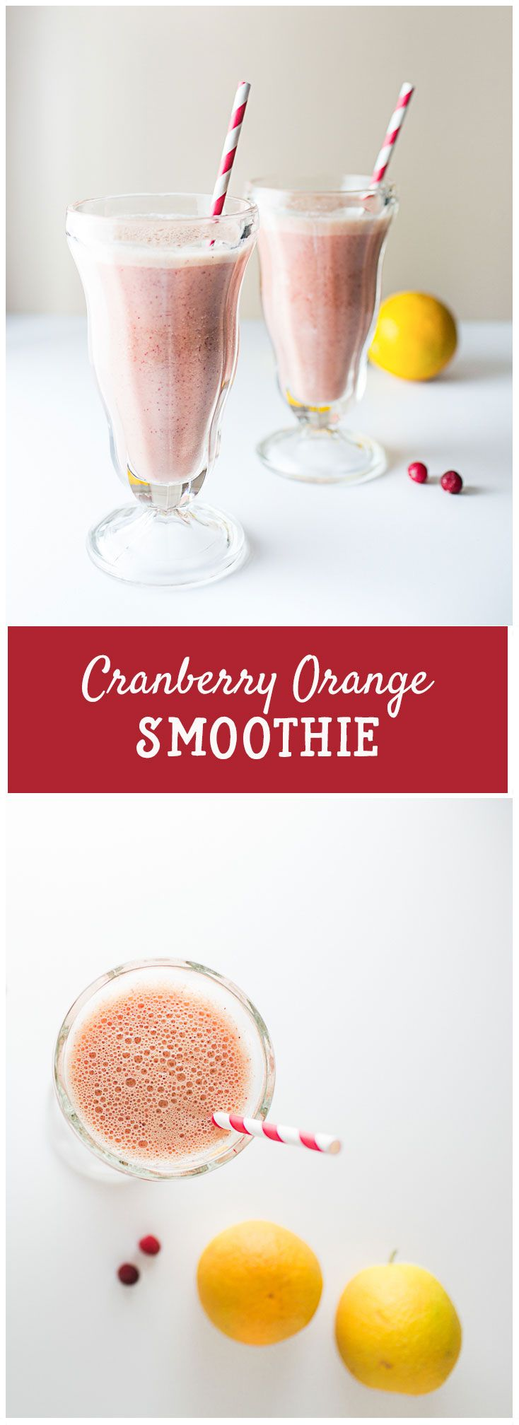 Cranberry Orange Smoothie!