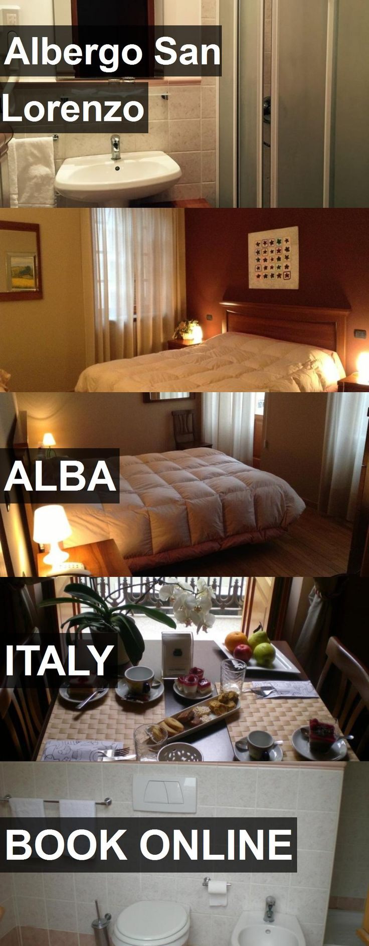 Hotel Albergo San Lorenzo in Alba, Italy. For more information, photos, reviews and best prices please follow the link. #Italy #Alba #AlbergoSanLorenzo #hotel #travel #vacation