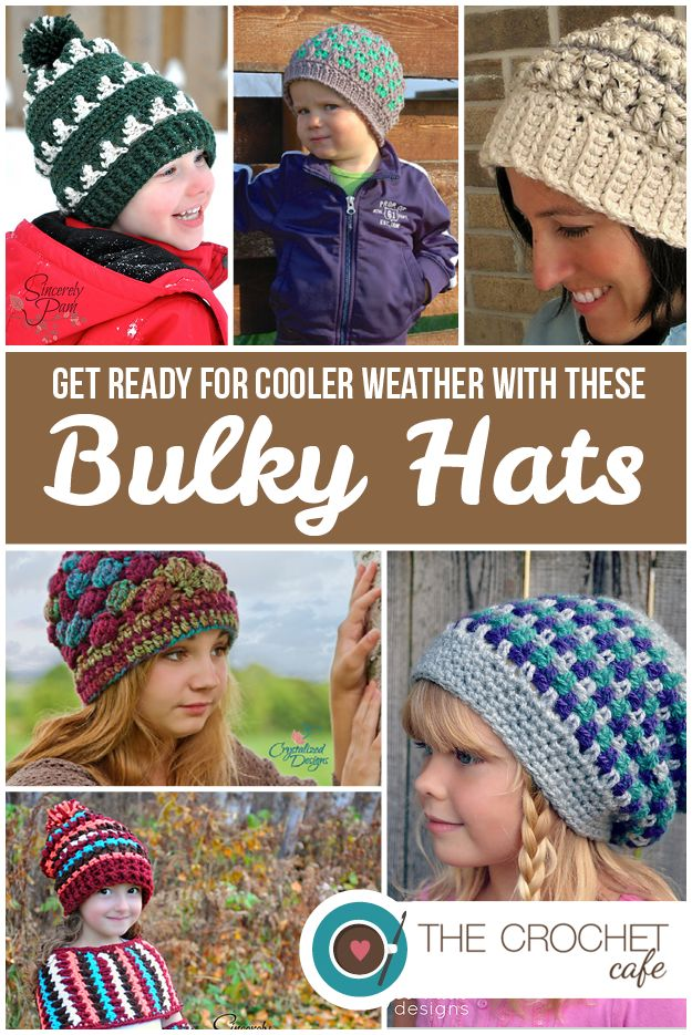 I start to pull out my bulky yarn when September rolls around so I thought that I would give you all a chance to get ready for the cooler weather. I love cooler weather because it means more yarn! ...
