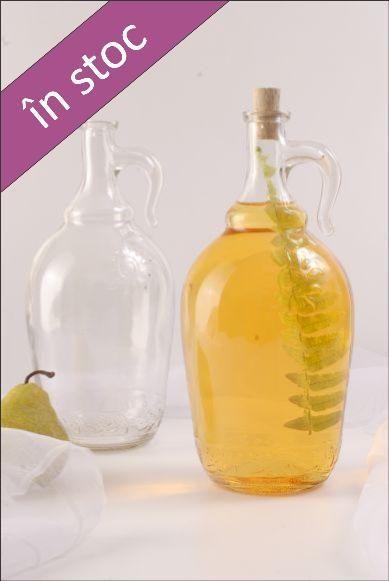 Sticla 2 L Sun pentru imbutelierea bauturilor alcoolice, la nivel industrial sau casnic.