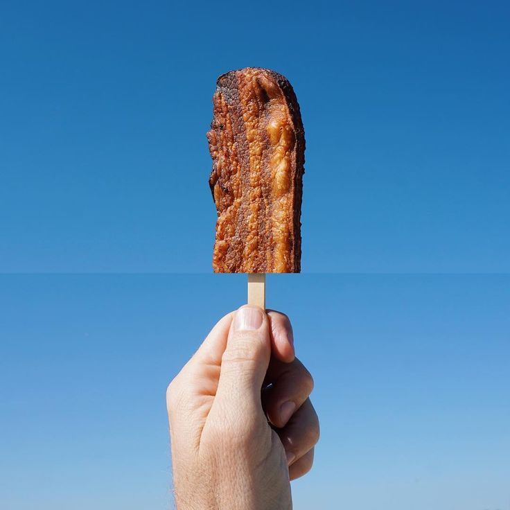 *Bacon + popsicle* Source…
