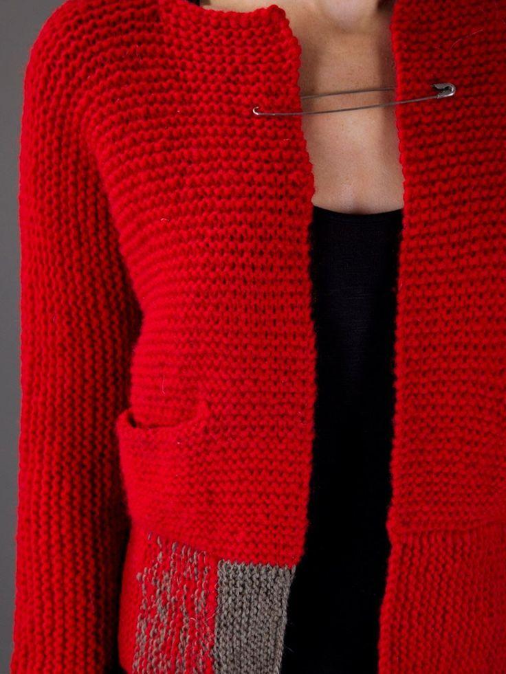 Daniela Gregis Cardigan Tricoté - - Farfetch.com