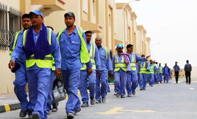 "#QATAR #SWD #G2Snew minimum wage of less than $200 a month is insufficient to meet the needs of migrant workers living in the Gulf state, rights groups say. Qatari authorities on Thursday introduced a temporary monthly minimum wage, the latest in a series of reforms amid widespread criticism over labor rights. ""As an initial figure that does seem very low,"" said Mustafa Qadri, an expert in Gulf labor rights and executive director of Equidem Research, a human-rights consultancy. ""There should…"