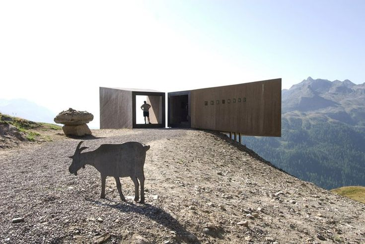 Telescope, Moso In Passiria, 2011 - Werner Tscholl, Architekt