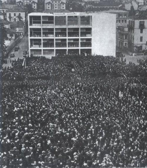 IT, Como, Casa del Fascio. Giusppe Terragni, 1936.