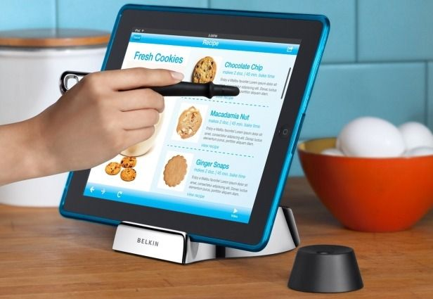 iPad + Kitchen = Smart Cooking