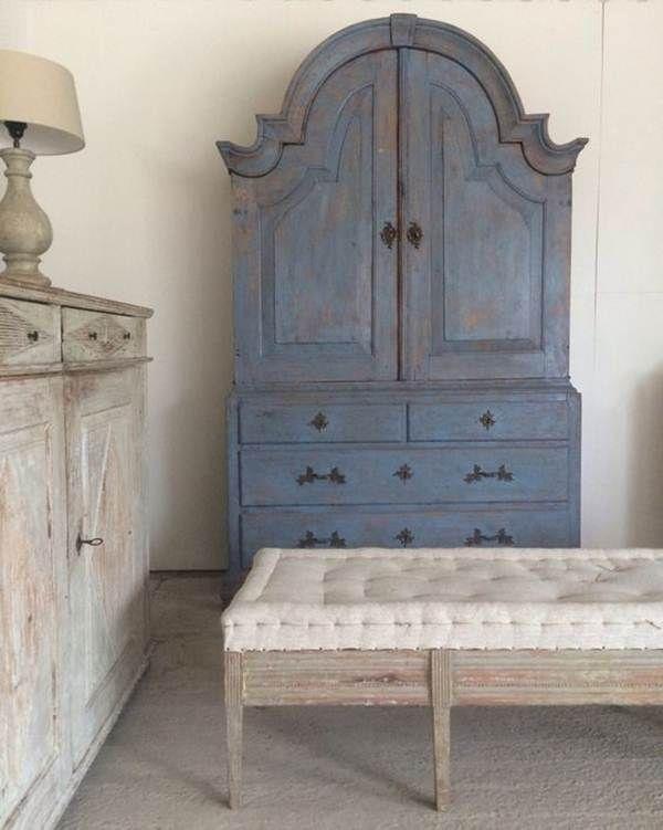 17 mejores ideas sobre pintura con tiza en pinterest - Muebles online vintage ...
